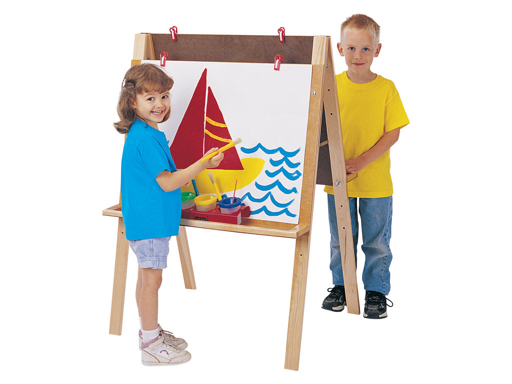 DOUBLE ADJUSTABLE EASEL by Jonti Craft