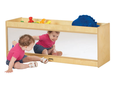 NATURAL WOOD TODDLER CRUISER CENTER w/Mirror by Jonti Craft