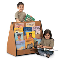 SPROUTZ® PICK-a-BOOK STAND - 2 SIDED BOOKDISPLAY - 4 COLORS by Jonti Craft