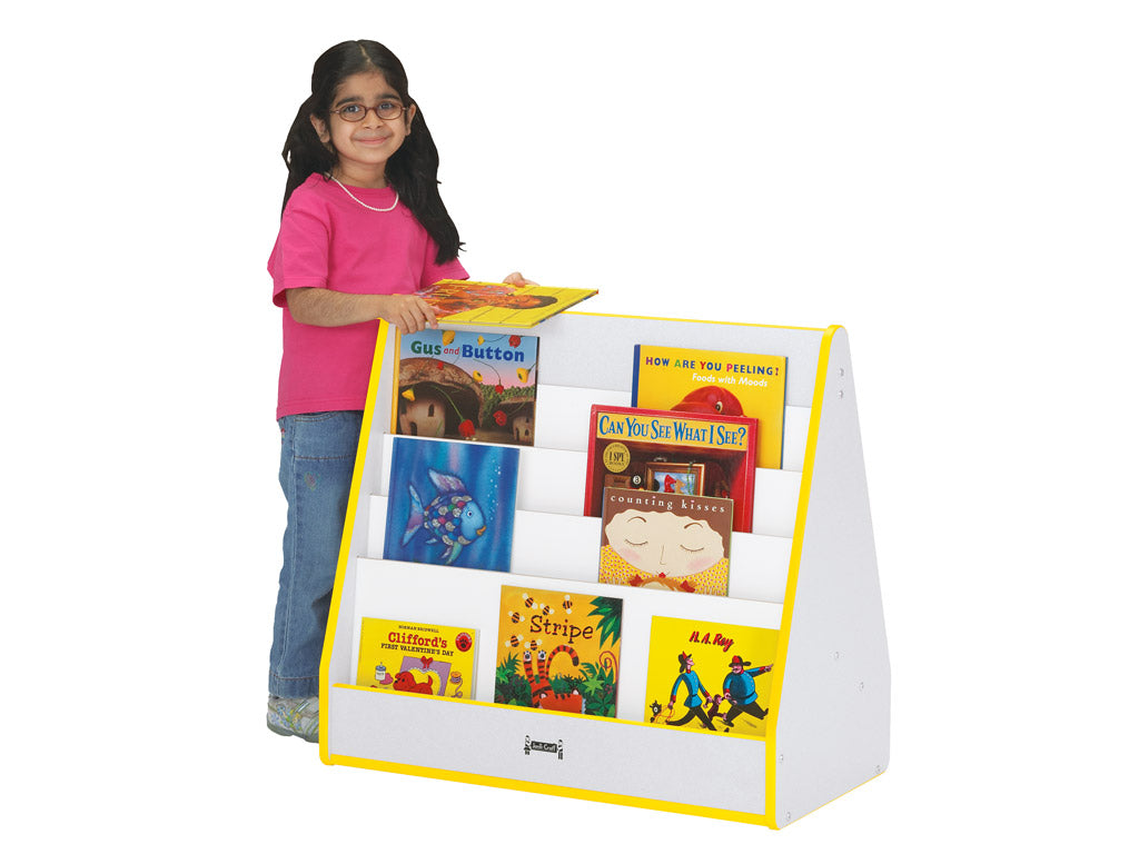 RAINBOW ACCENTS® PICK-a-BOOK STAND - 1 SIDED -9 Colors by Jonti Craft