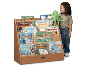 SPROUTZ® FLUSHBACK PICK-a-BOOK STAND - 1 SIDED - 4 Colors by Jonti Craft