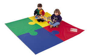 "72"" SQUARE PUZZLE KIDS PLAY MAT"