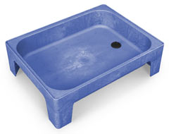 "8"" All-In-One Sand and Water Activity Center in Blue"