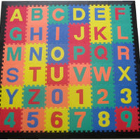 ACT PACKAGE  MAT SETS-Learning Mats w/Black Edges