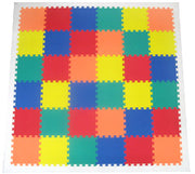 ACT PACKAGE MAT SETS-Colorful Floor Mat w/White Edges