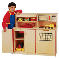 4-in-1 KITCHEN ACTIVITY CENTER by Jonti Craft