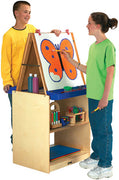 2 STATION EASEL - SCHOOL AGE by Jonti Craft