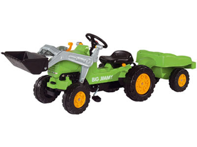 Kids Tractor-Big Jimmy Loader plus Trailer