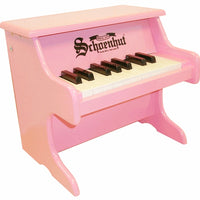 Children's Tabletop Pianos - 18 Key My First Piano by Schoenhut, Red, Pink or White
