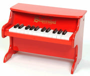 Children's Tabletop Piano - 25 Key Schoenhut My First Piano II, Red,Pink or White