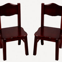 Kids Classic Espresso Extra Chairs by Guidecraft