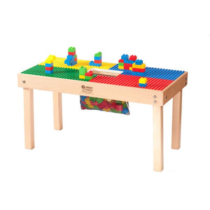 Small Lego or Duplo/Mega Compatible Fun Builder Block Table, Made in US