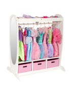 Kids Dress-Up Storage Center: White