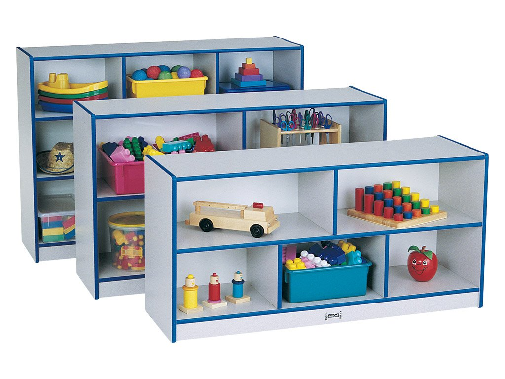 RAINBOW ACCENTS® SINGLES STORAGE in 8 colors by Jonti Craft
