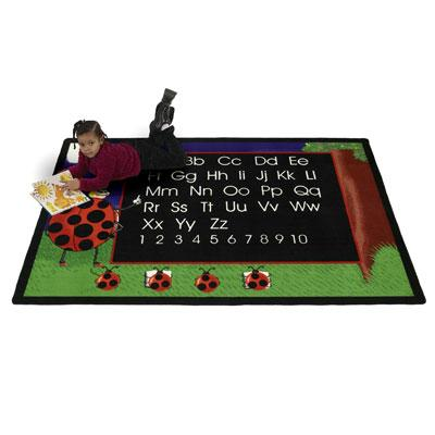 Flagship Kids Carpets-Lady Bug™ Kids Educational Rug