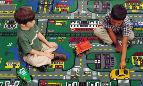 Flagship Kids Carpets-Places-To-Go™ Kids Educational Rug