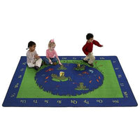 Flagship Kids Carpets-Frogs™ Kids Educational Rug