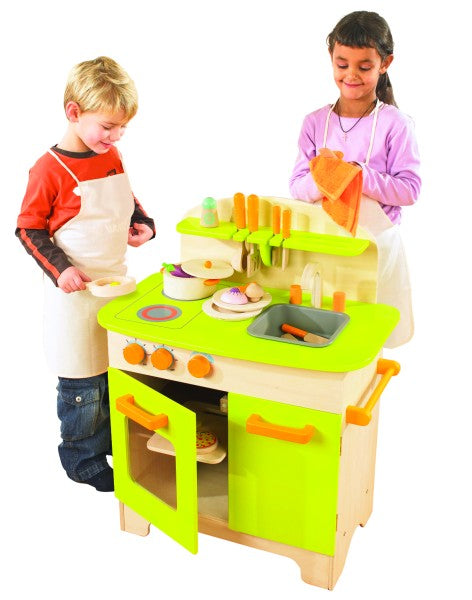 Gourmet Chef Wooden Play Kitchen
