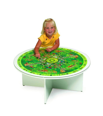 GRESSCO Jungle Jumble Kids Play Table-Made in USA