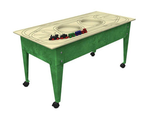 Youth Play Table w/ Route Board, and Trains