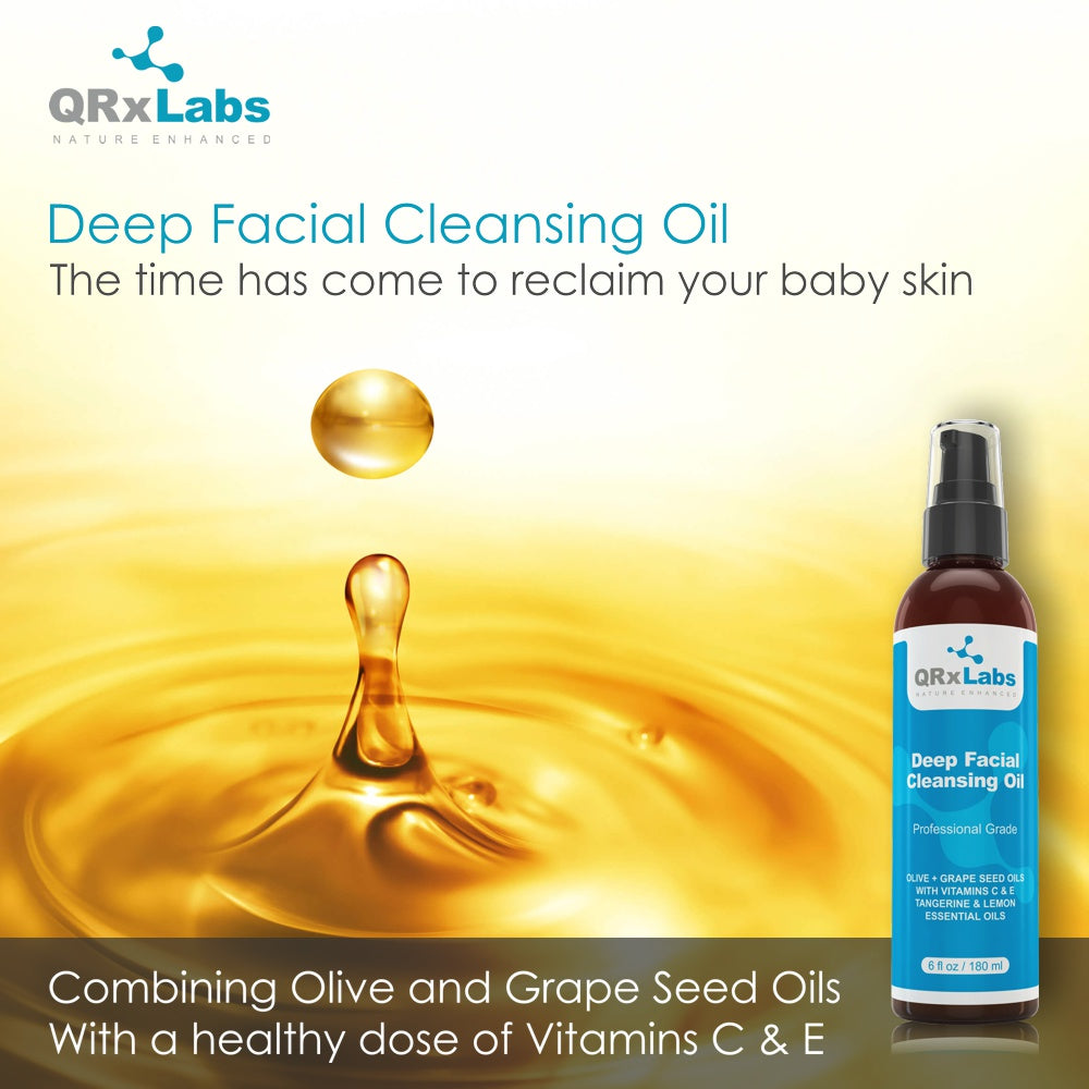 Deep Facial Cleansing Oil