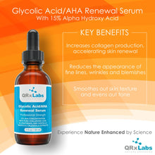 Load image into Gallery viewer, Glycolic Acid/AHA 15% Renewal Serum