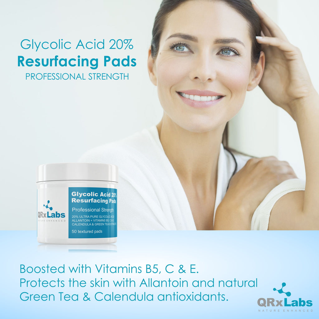 Glycolic Acid 20% Resurfacing Pads