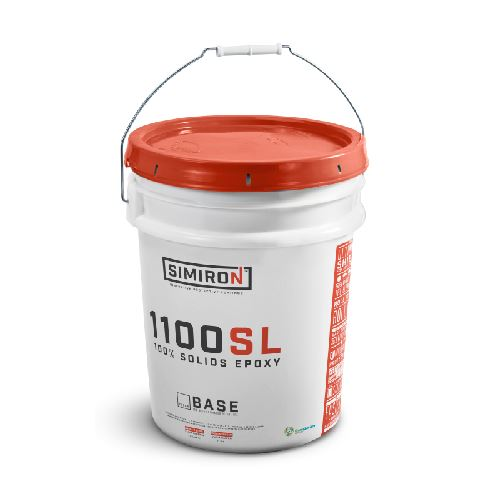 1100SL Self-Leveling Epoxy - 2 Gallon Base Only Simiron Select Color