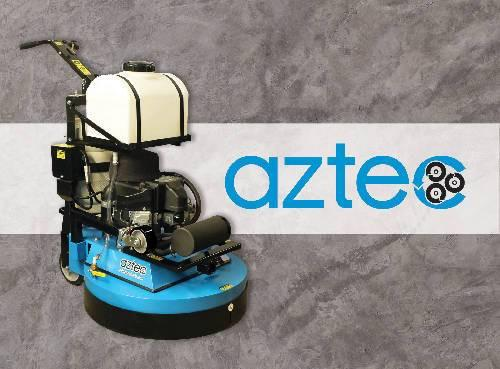 Aztec Refresher - Propane Powered, Multi-Purpose, Multi-Surface Machine - Aztec Products - Concrete Decor Marketplace