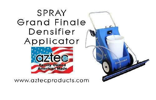 Aztec Spray Grand Finale – High Productivity Densifier Applicator - Aztec Products - Concrete Decor Marketplace