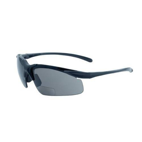 Apex Bifocal - Safety Glasses (Pack of 6) Global Vision Eyewear Corp. Smoke +1.50
