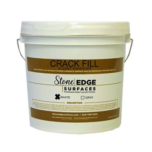 Hairline Crack Fill Mix - Accent Enhancer - 2.5 Gallon Stone Edge Surfaces
