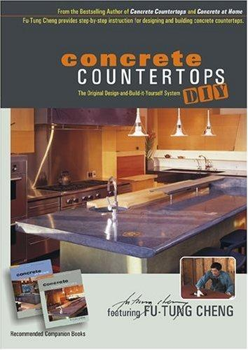Concrete Countertops DIY with Fu-Tung Cheng (DVD) Media Concrete Decor RoadShow