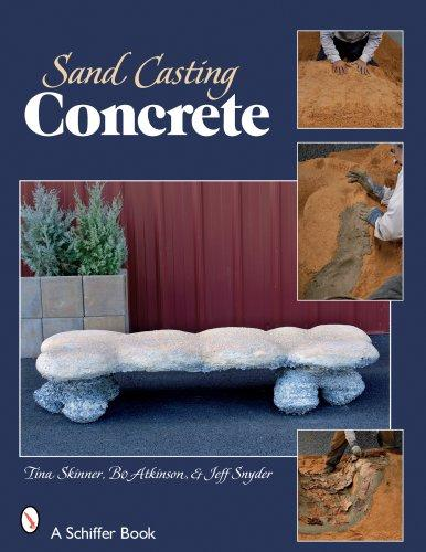 Sand Casting Concrete by Tina Skinner, Bo Atkinston & Jeffrey Snyder Media Concrete Decor RoadShow