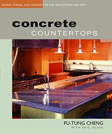 Concrete Countertops by Fu-Tung Cheng Media Concrete Decor RoadShow