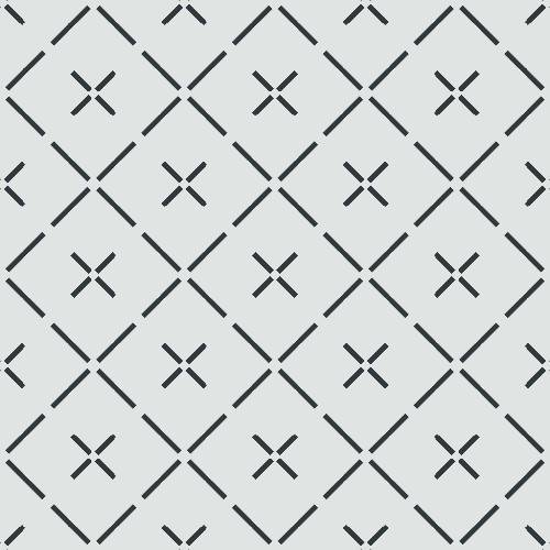 Quilt Tile Pattern - Adhesive-Backed Stencil supplies FloorMaps Inc. Negative