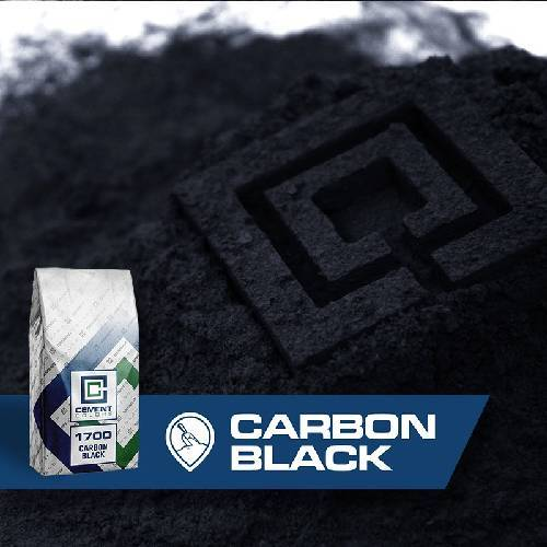 integral Powder Pigment - Carbon Black Cement Colors 50 lbs