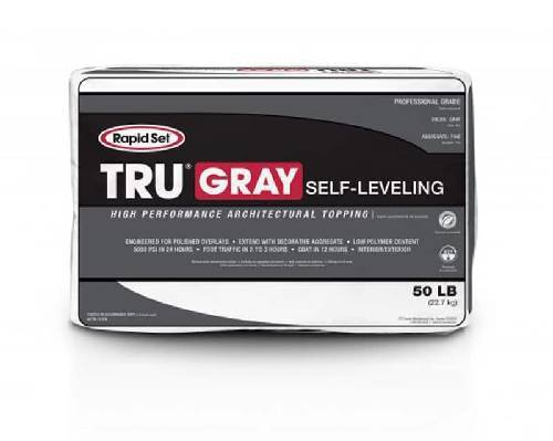CTS Rapid Set TRU Gray - Self-Leveling Cement Colors TRU Gray (1) 50 pound bag