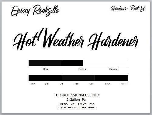 Hot Weather Hardener - Formula (Part B)