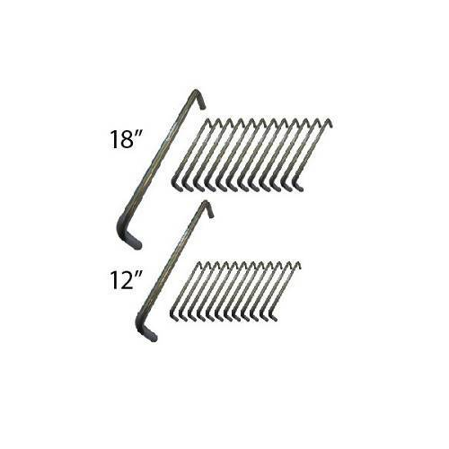 "Concrete Staple - 12"" / 18"" - Combo - 12 pc. each The Concrete Staple"
