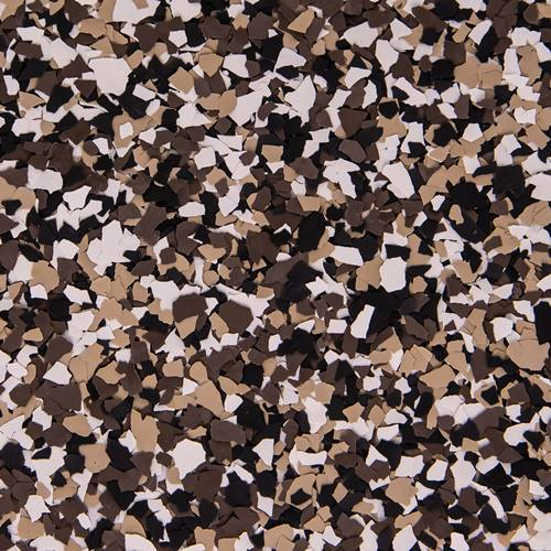 Decorative Chip Flakes - 50 lb Simiron Autumn Brown