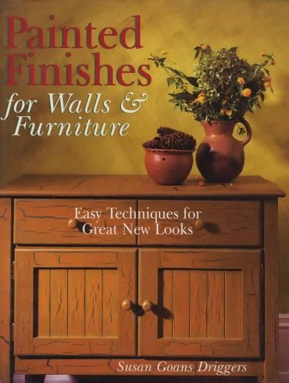 Painted Finishes for Walls & Furniture by Susan Goans Driggers Media Concrete Decor RoadShow