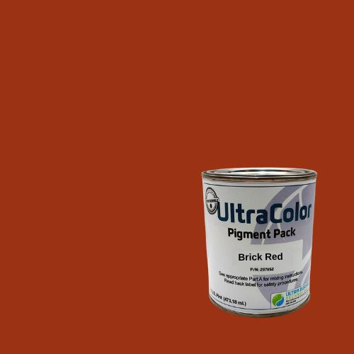 UltraColor Pigment Packs Ultra Durable Technologies Brick Red