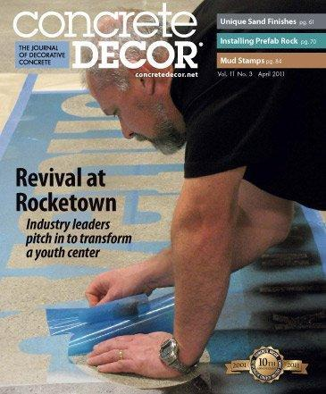 Vol. 11 Issue 3 - April 2011 - Concrete Decor Marketplace - Concrete Decor Marketplace