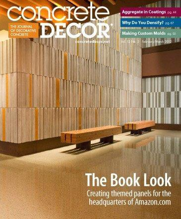 Vol. 12 Issue 2 - February/March 2012 Back Issues Concrete Decor Store