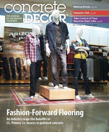 Vol. 12 Issue 7 - October 2012 Back Issues Concrete Decor Store