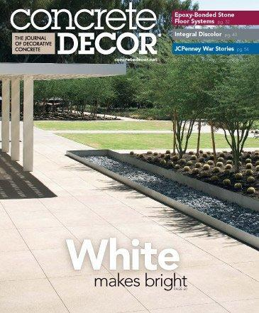 Vol. 13 Issue 6 - August/September 2013 Back Issues Concrete Decor Store