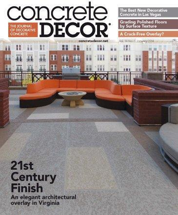 Vol. 14 Issue 1 - January 2014 Back Issues Concrete Decor Store