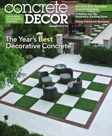 Vol. 14 Issue 2 - February/March 2014 Back Issues Concrete Decor Store