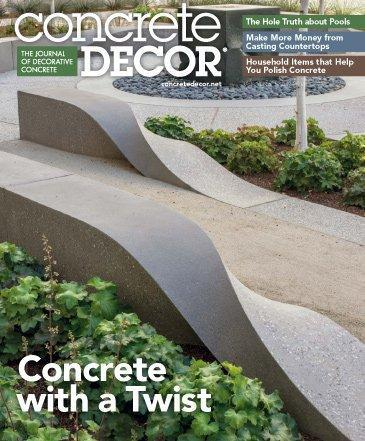 Vol. 14 Issue 5 - July 2014 Back Issues Concrete Decor Store